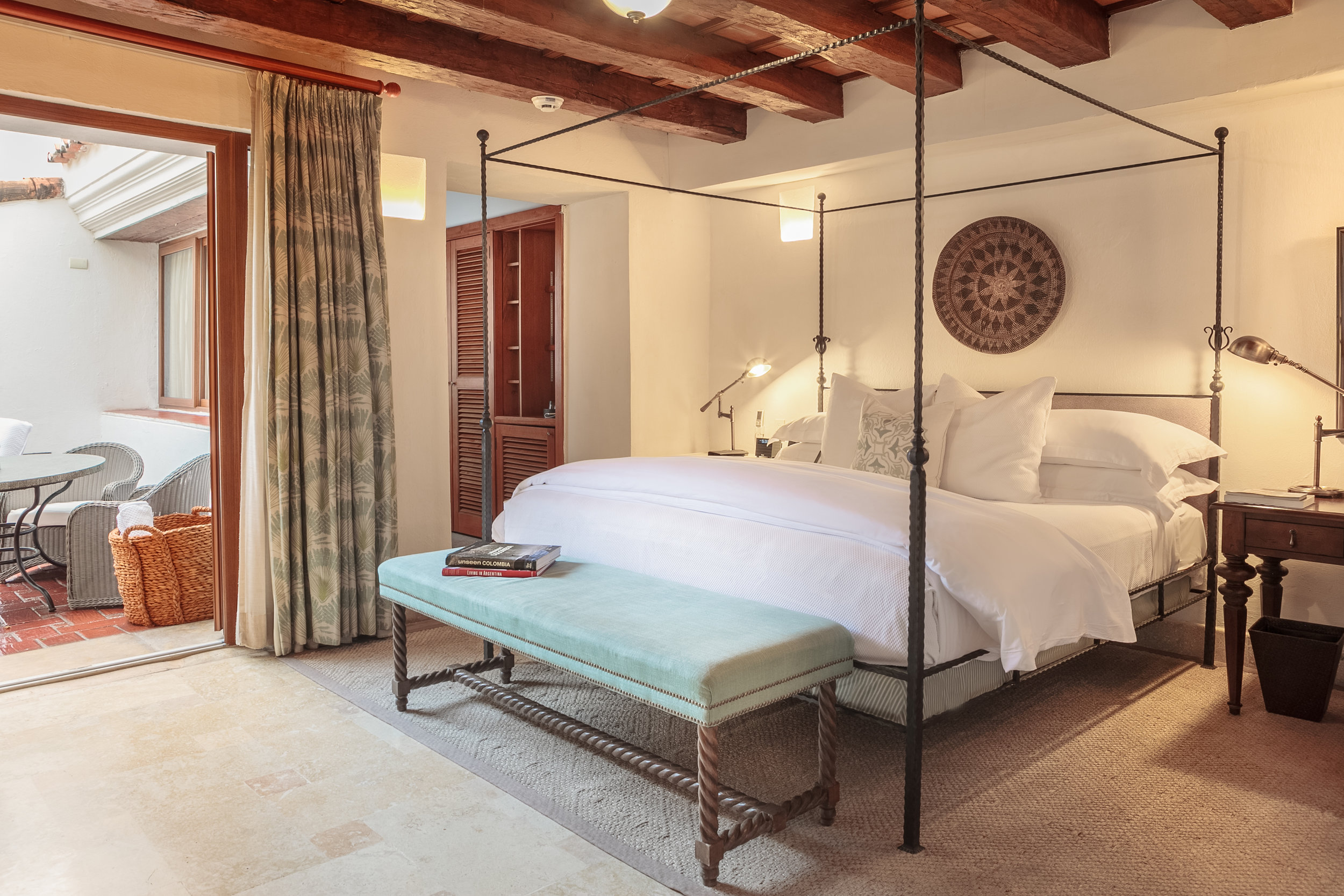Guestroom at Hotel Casa San Agustin ( photo courtesy of Hotel Casa San Agustin)