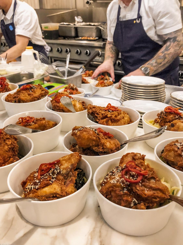 Fried Chicken at Ben Paris