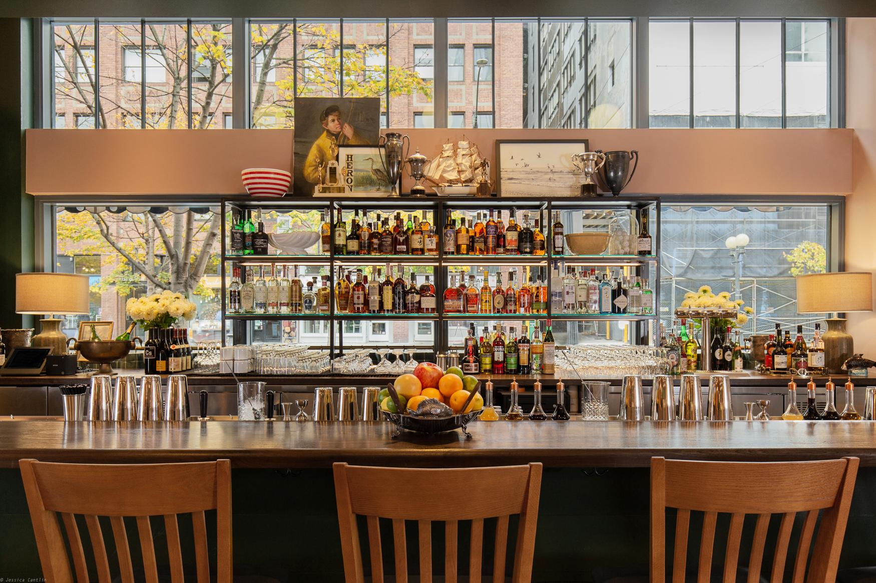 The bar at Palihotel  (photo courtesy of Palihotel)