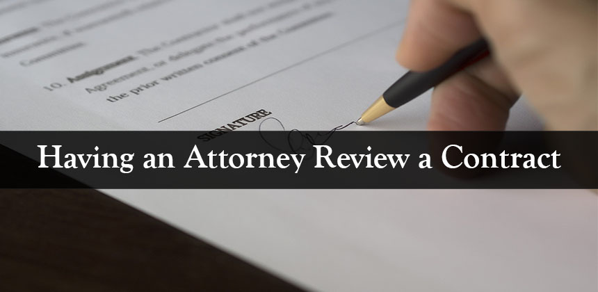 Having a contract lawyer review your agreement can be one of, if not the, most important step in the overall contracting process. And while doing so, at times, can be quite expensive, it could wind up saving you a fortune. In this blog post, Cordero Law goes over the basics of what hiring an attorney to do a contract review entails and what to expect.