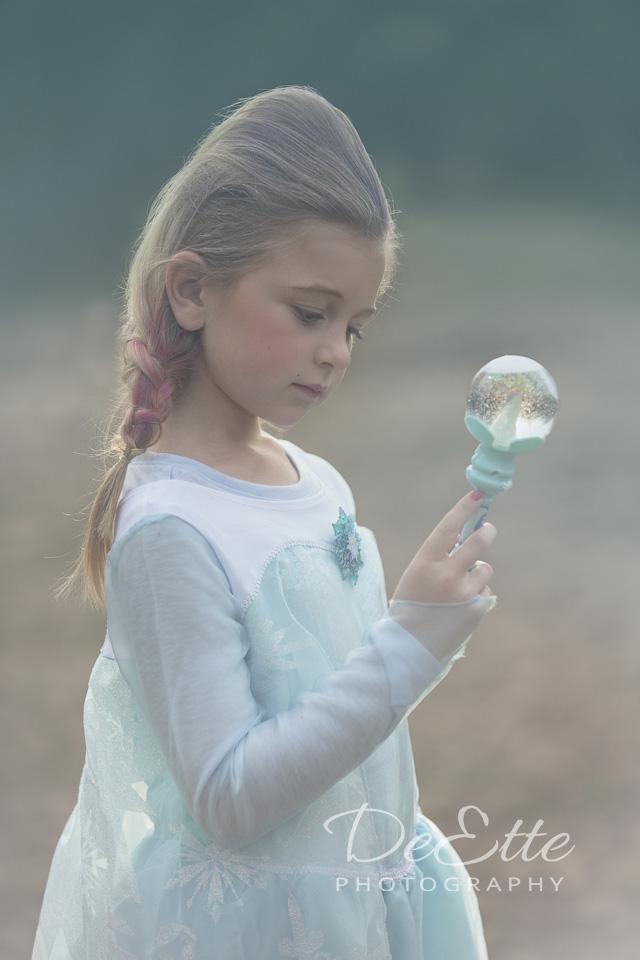 Magical snow globe