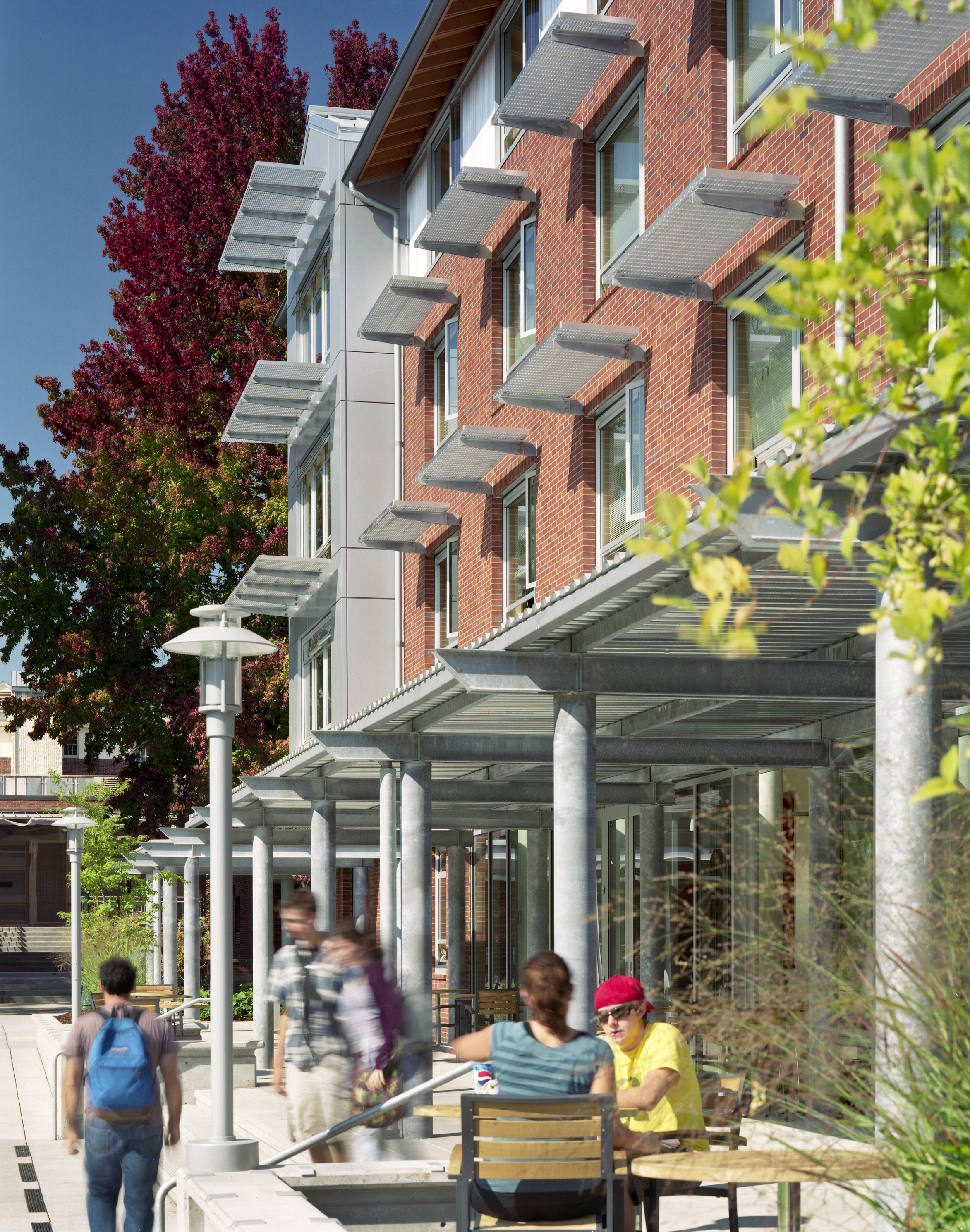 Living and Learning Center, U of O  ZGF