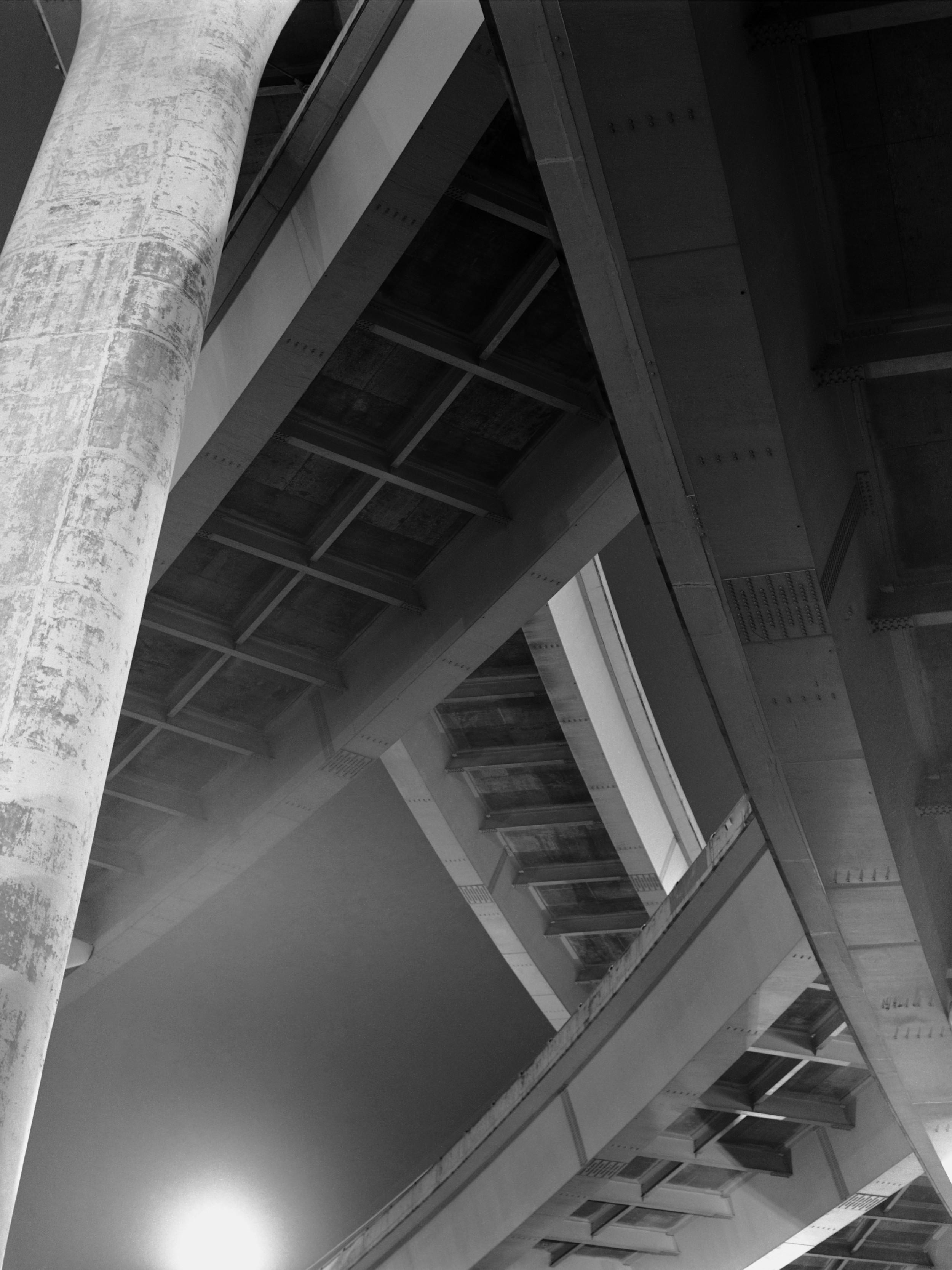 Fremont Bridge Ramps  Portland, Oregon