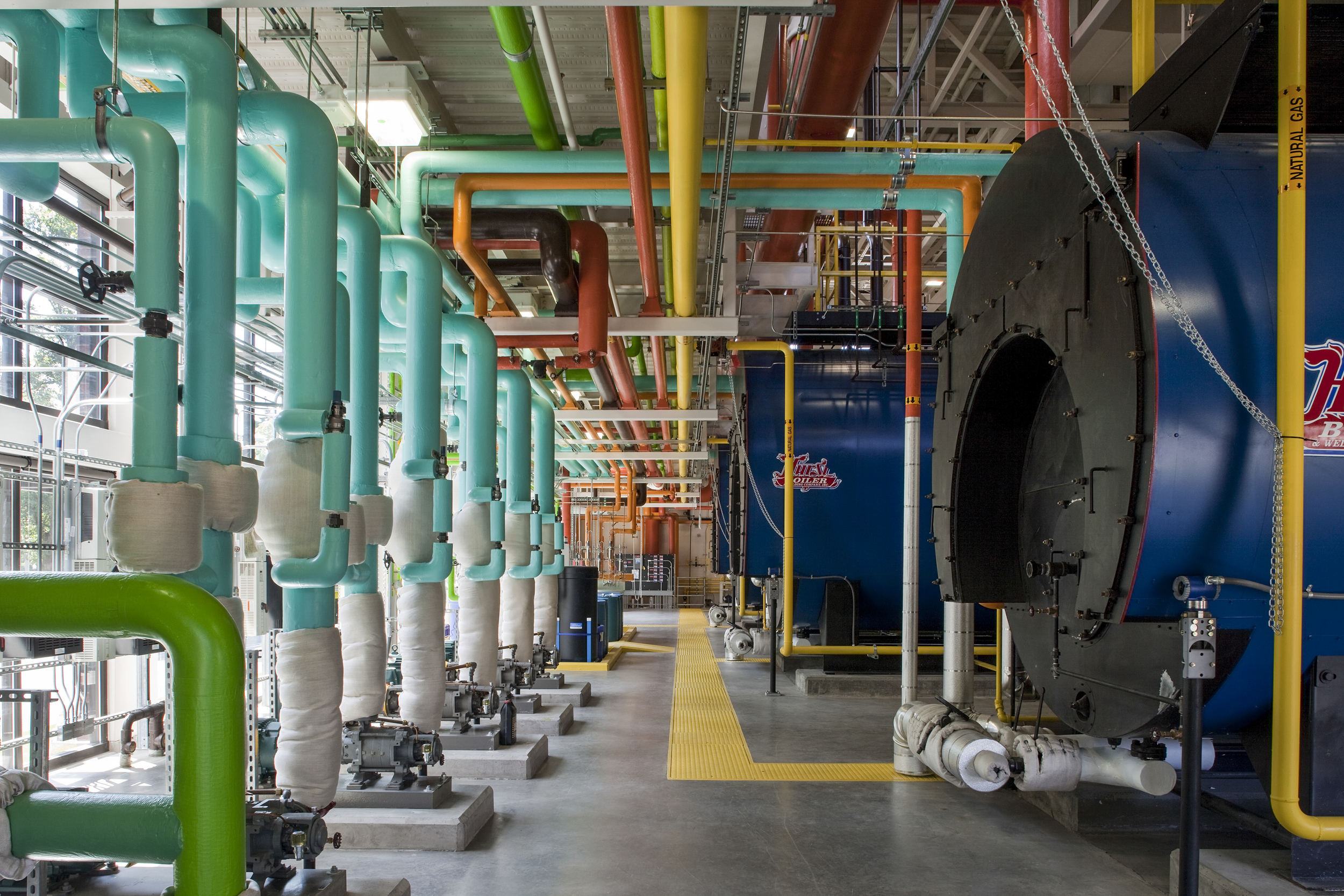 Tacoma General Hospital Boiler Plant  GBJ Architecture