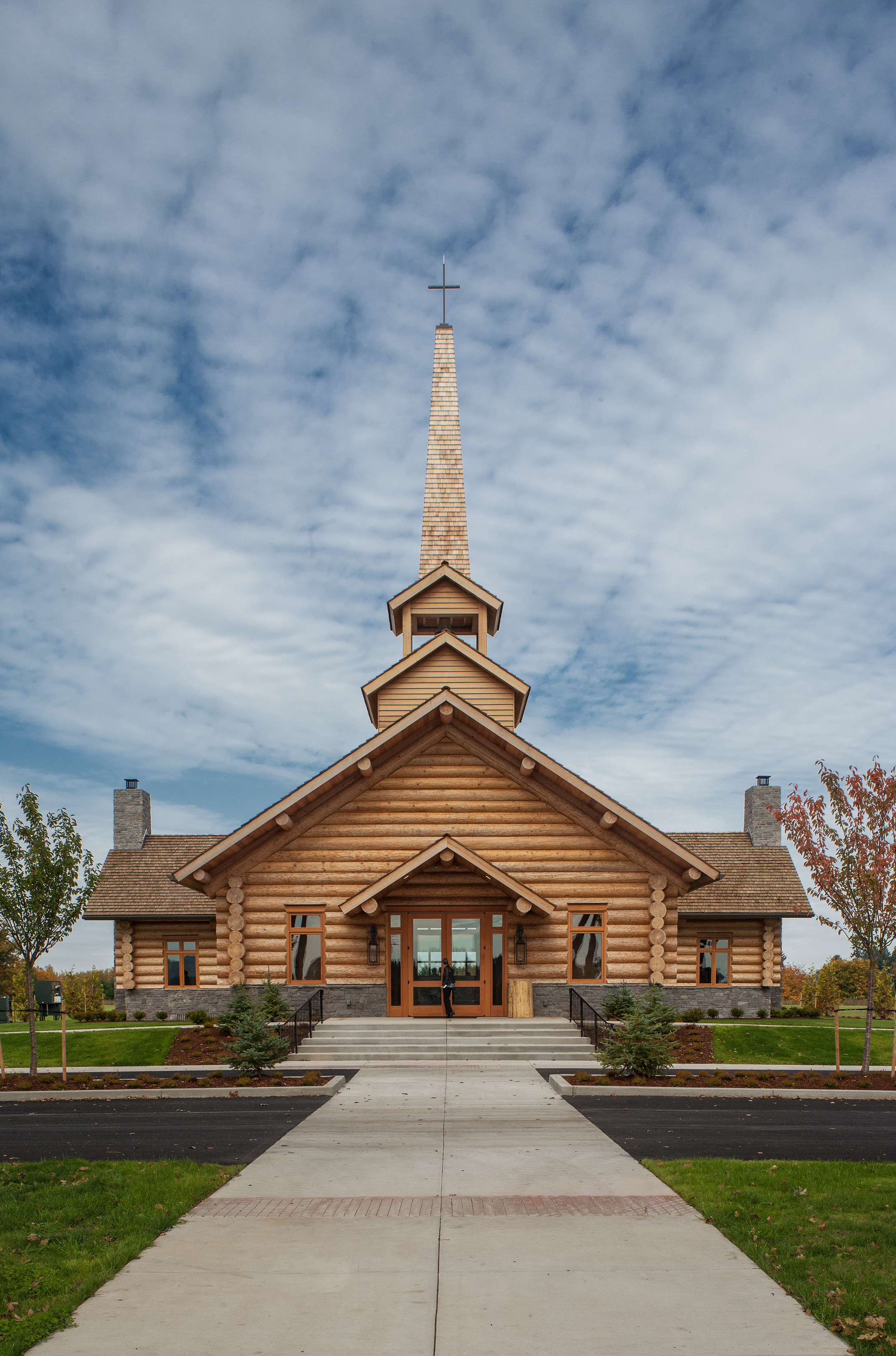 Evergreen Chapel  Woofter Architecture