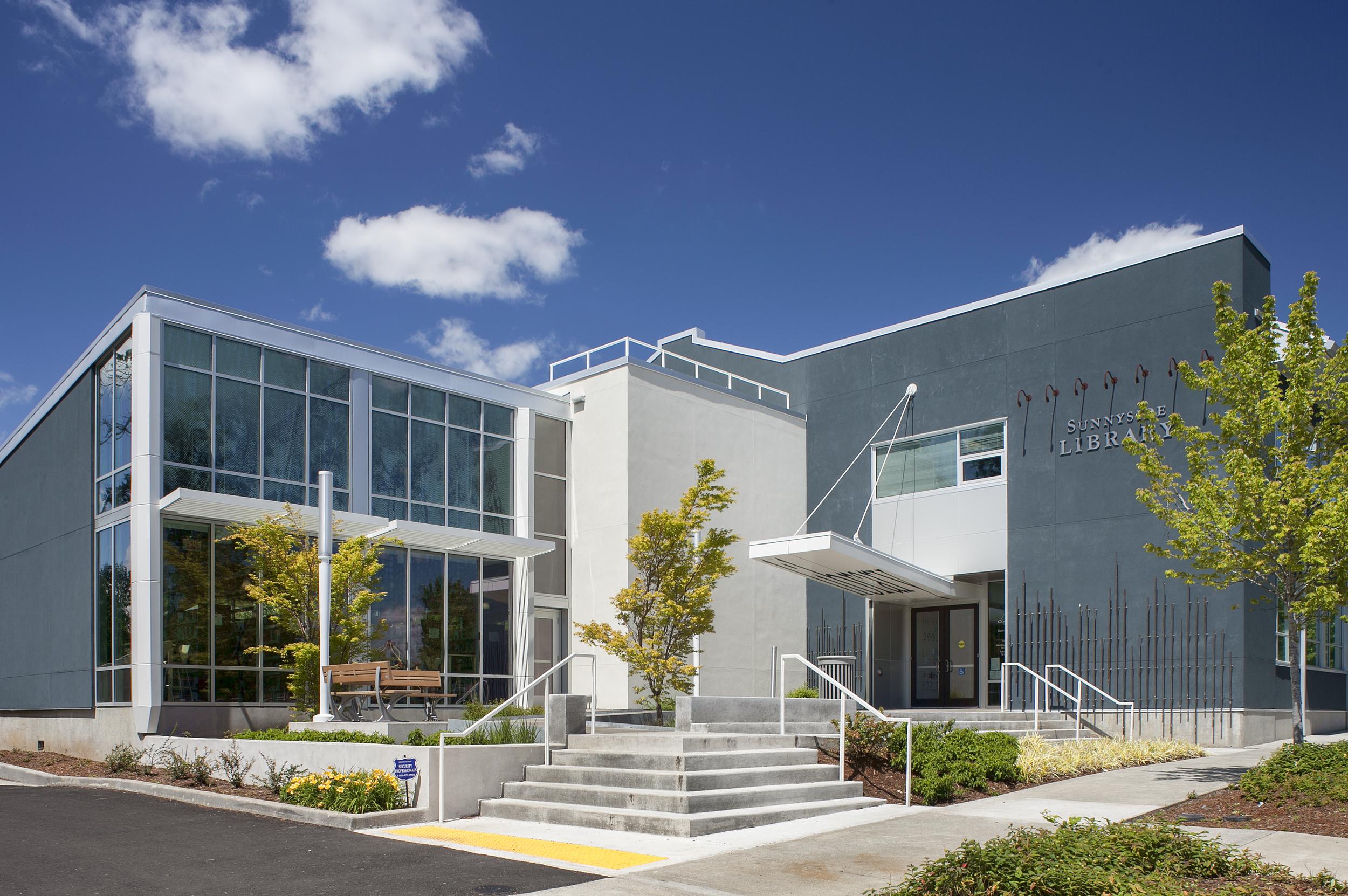 Sunnyside Library  Scott Edwards Architecture