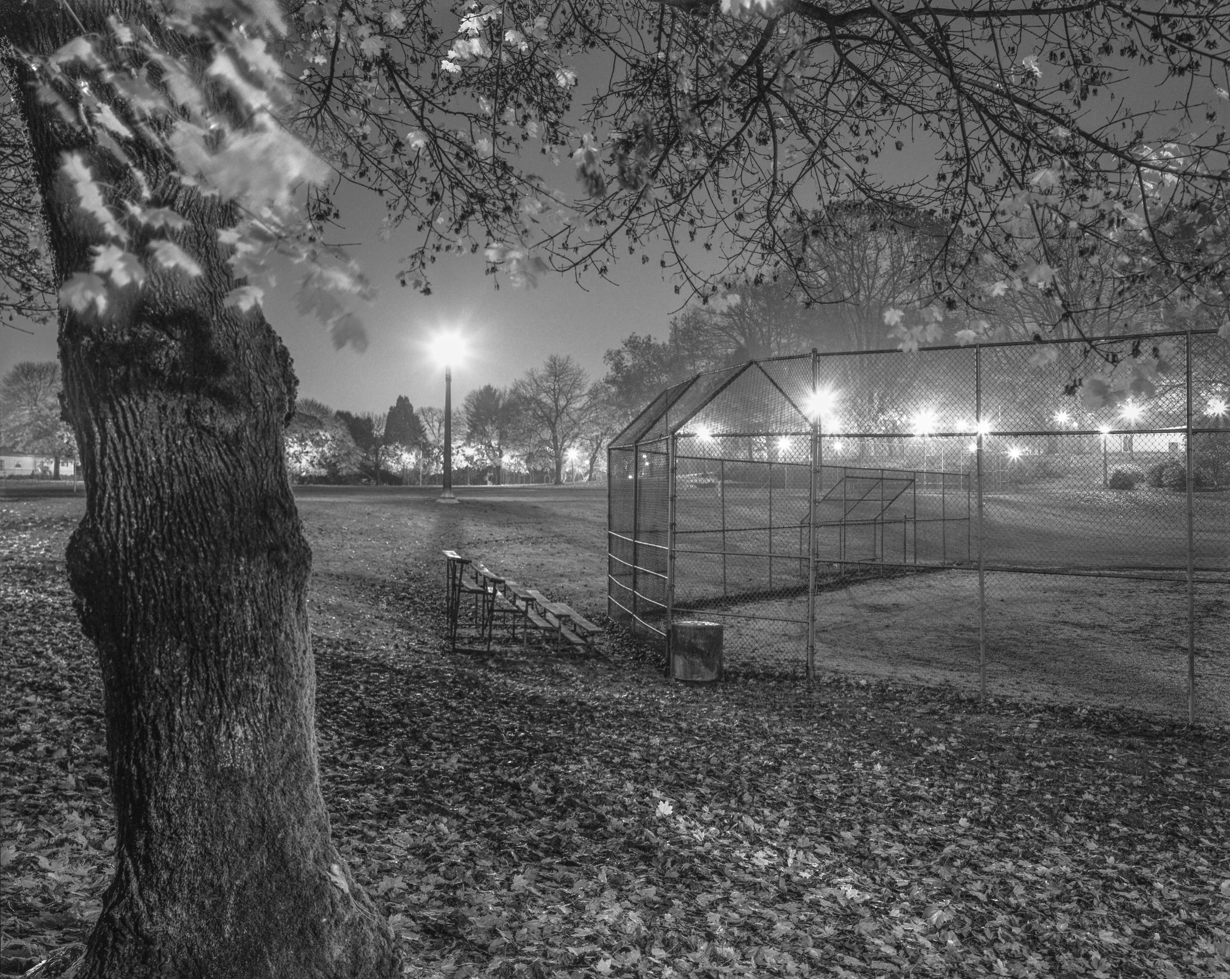 Irving Park Ball Field  Portland, Oregon