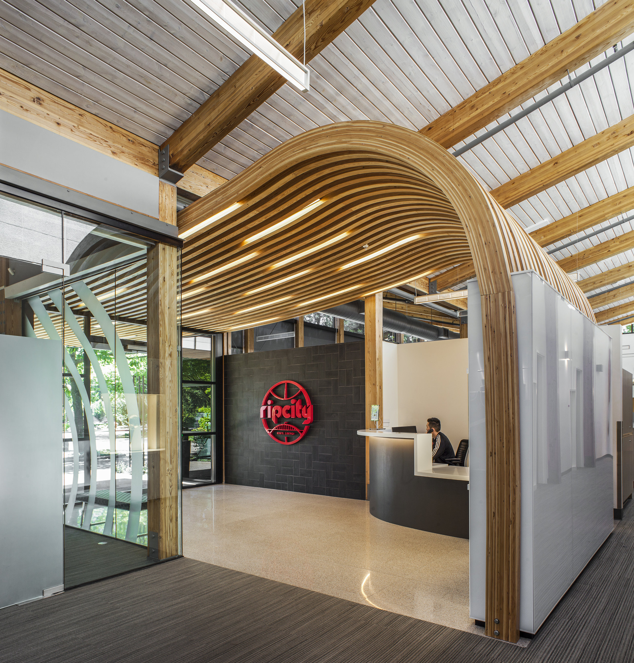Portland Trailblazers Practice Facility  GBD Architects