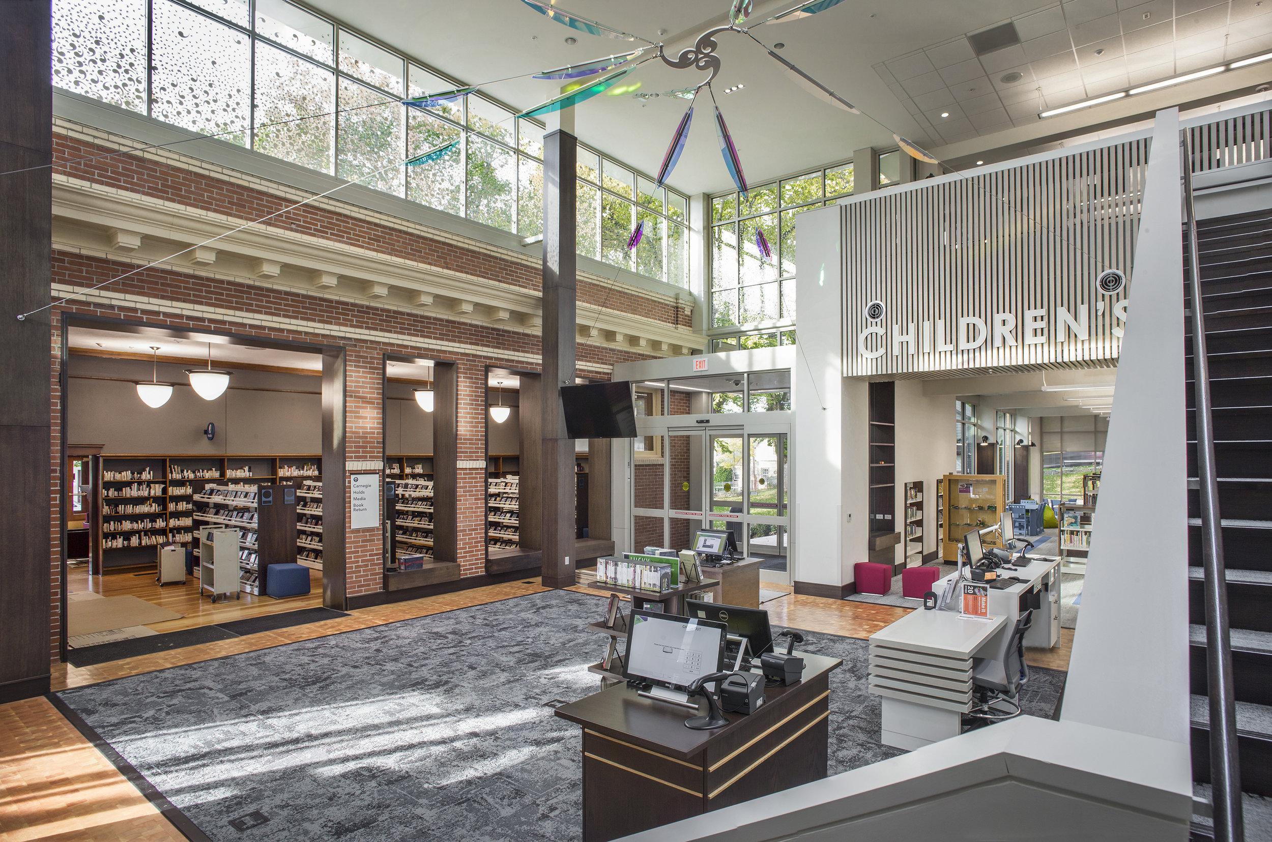 Oregon City Public Library  Scott Edwards Architecture