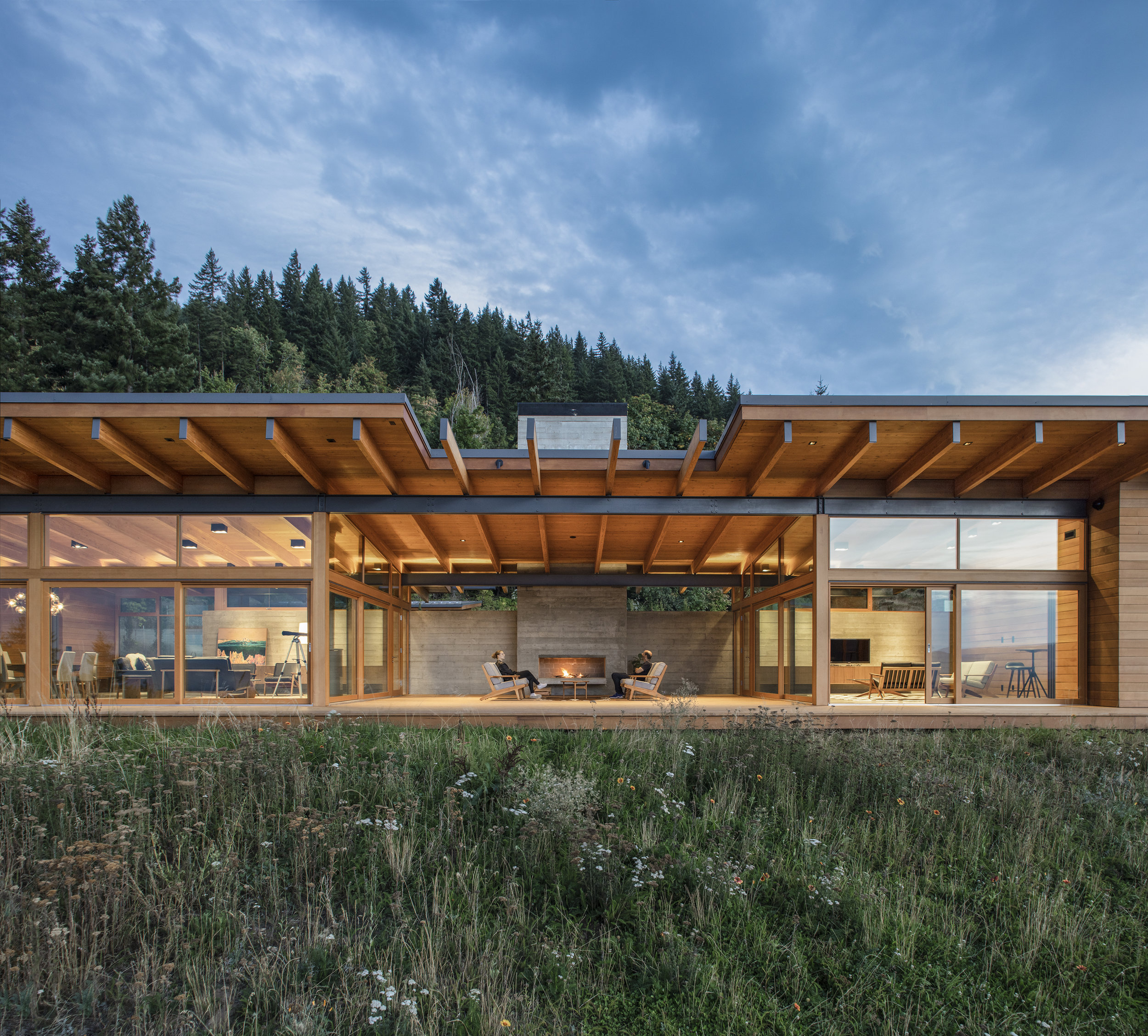 Hood River House  Scott Edwards Architecture