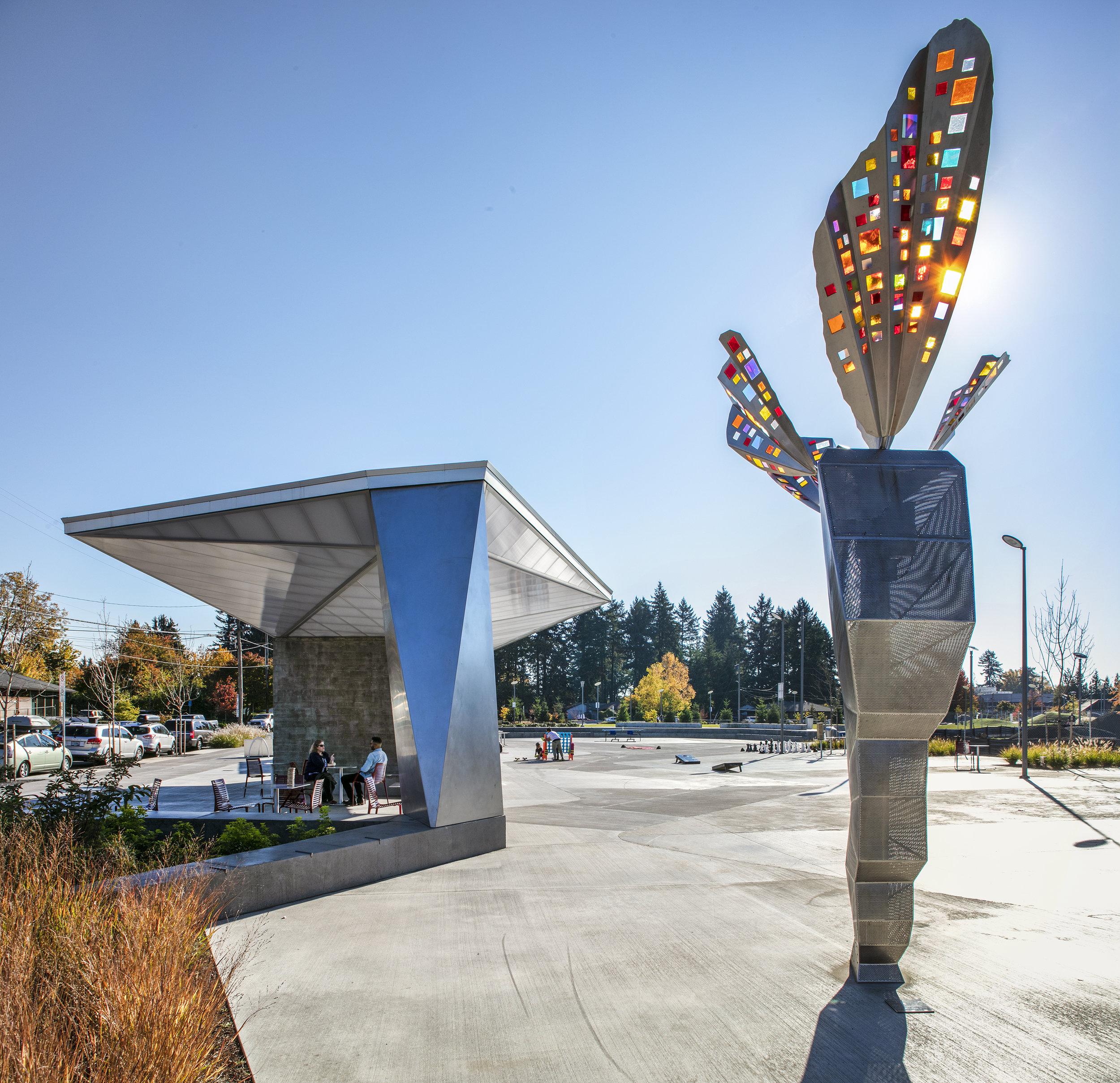Discovery Park Kiosk  Scott Edwards Architecture
