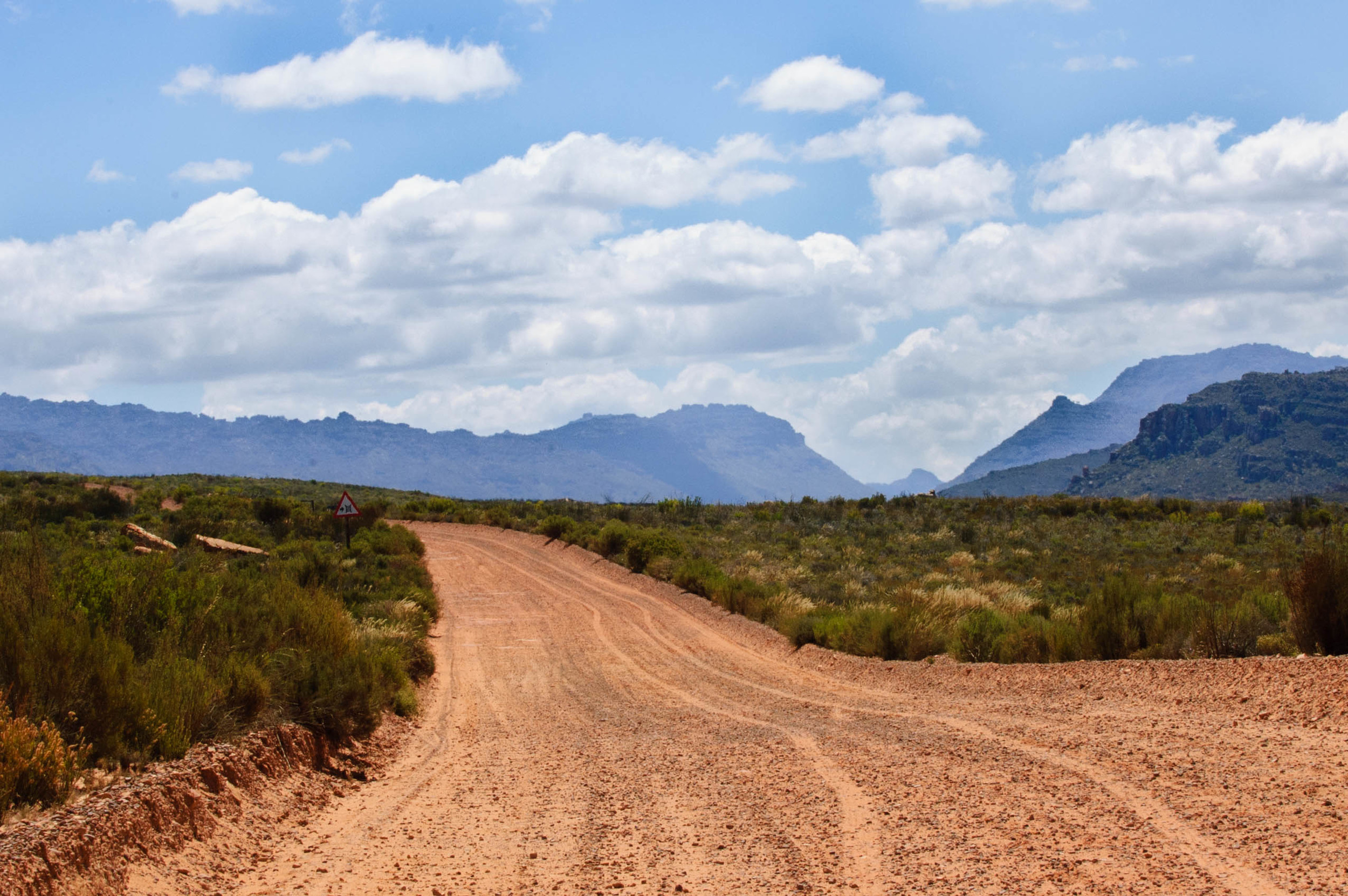 Cederberg Wilderness dirt road, South Africa