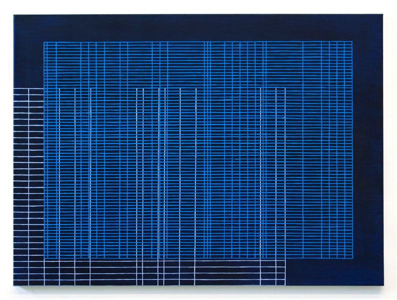 screen[1403] , 2015  oil on canvas 22 x 30 in
