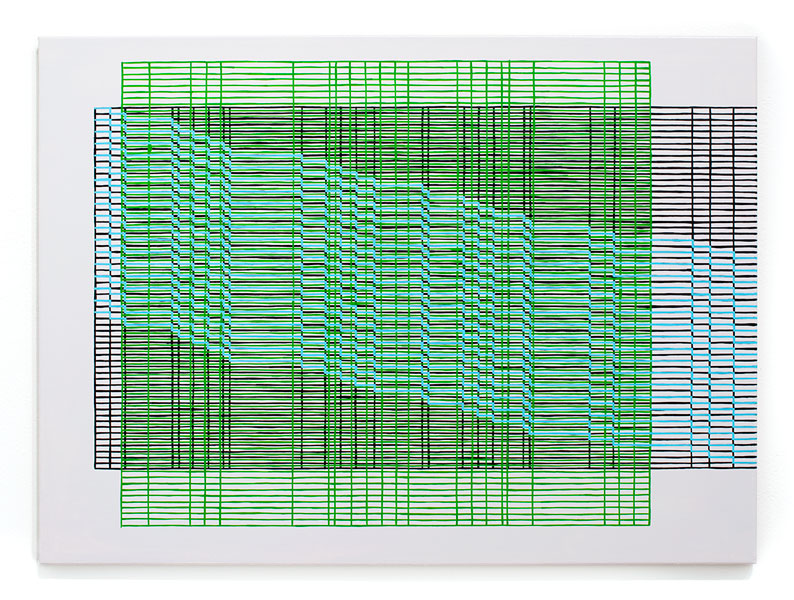 screen[1502] , 2015  oil on canvas 22 x 30 in