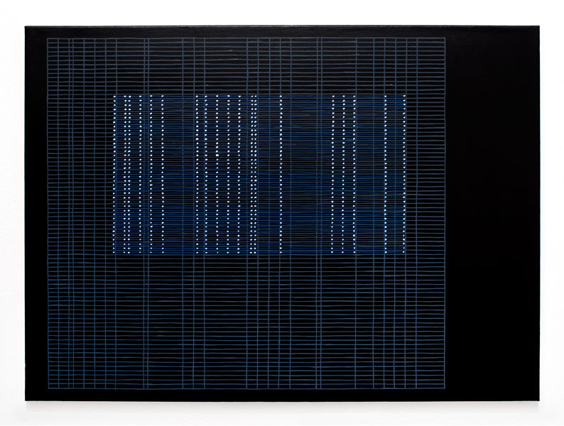 screen[1501] , 2015  oil on canvas 22 x 30 in