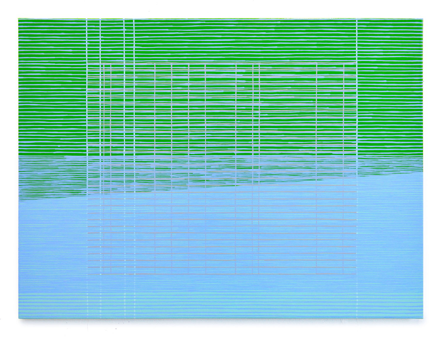 screen[1509] , 2015  oil on canvas 22 x 30 in