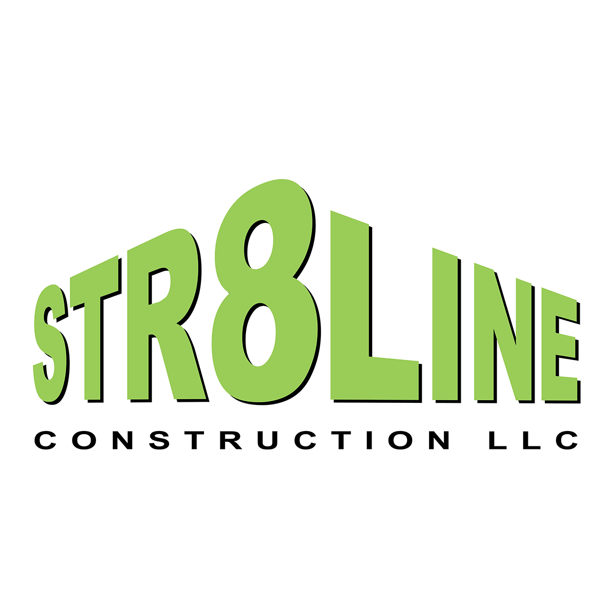 Str8line Construction LLC   Str8line Construction LLC specializes in roofing. They asked me to design a logo and vehicle graphics to get their branding started. I used a combination of Illustrator and Photoshop to create their logo and other branding materials.
