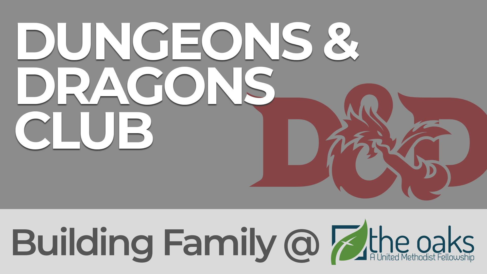 D&D Club - A group born from a love of video games and theater. It's a place where we all get to be different people for a few hours, become more powerful superheroes (or anti-heroes), and escape life for a bit with some great friends.