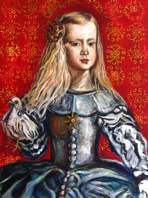 Infanta con Gallo