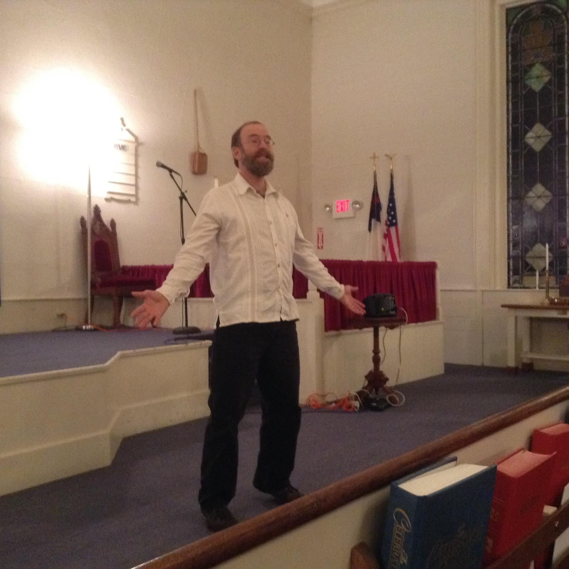 Storyteller Andy Davis