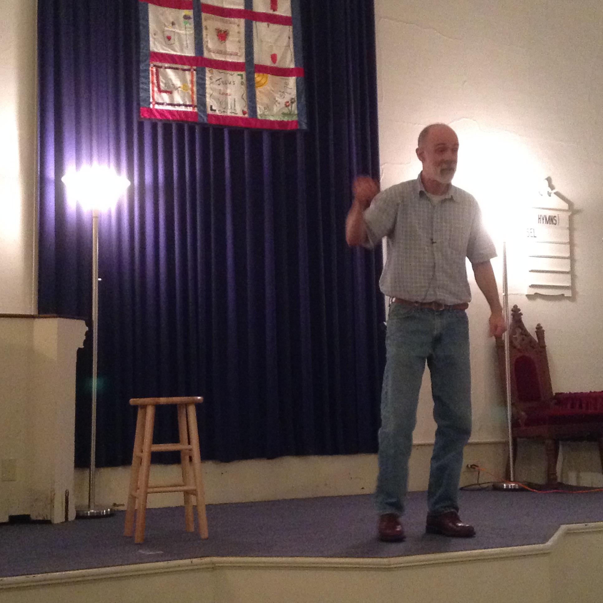 Storyteller Matt Krug