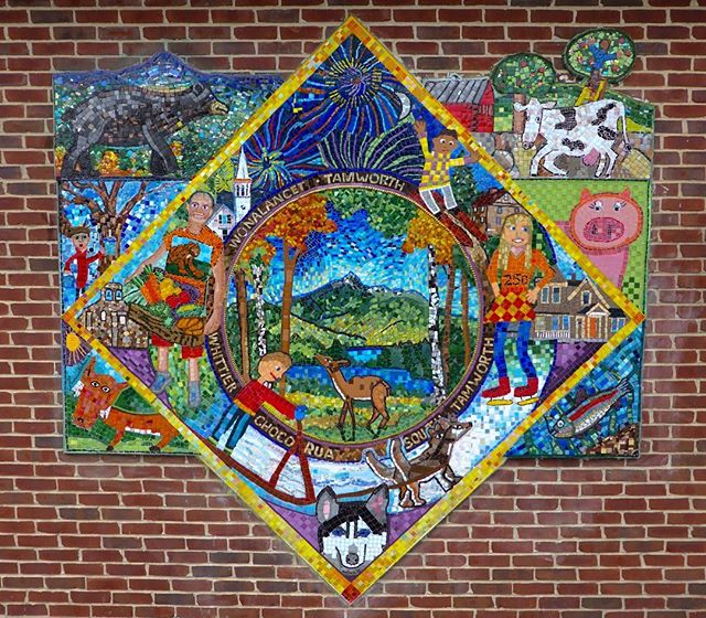 ...to this! #davidfichter #glassmosaic #mosaic #artstamworth #tamworth250thcelebration #nhsca #communityart