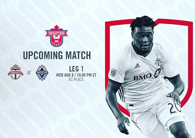 Meanwhile in 🇨🇦 Tonight is the first leg of the #canchamp final. @WhitecapsFC vs @TorontoFC with a trip to CONCACAF Champions League on the line. Also Davies & Akinola expected to see some minutes. 2 of the best U18 players in North America.