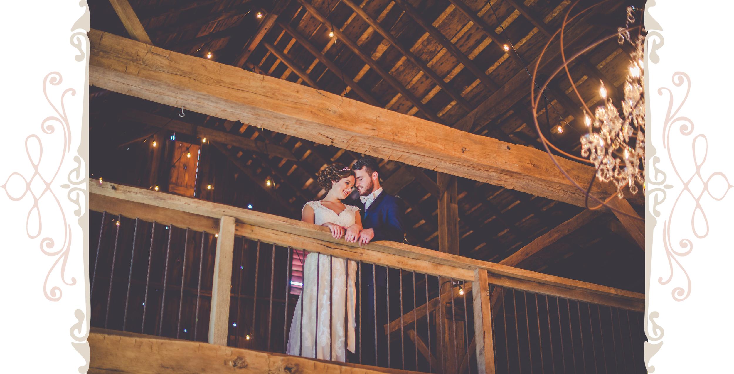 Husband & Wife | Vintage Oaks Banquet Barn | Delphi Indiana Event Venue