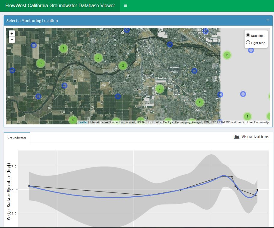 California Groundwater Conditions Viewer