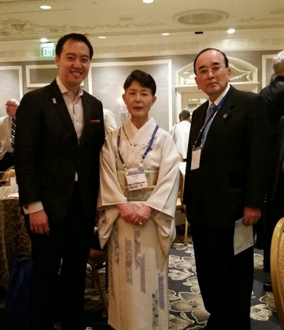 Huge honor to meet face to face with quality assurance legend and guru, Dr. Noriaki Kano and wife Akiko at the 2015 ASQ Awards Reception in Nashville.