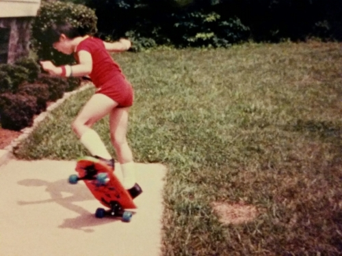 Between skateboarding and BMX biking, this photo was a rare childhood moment when my knees and elbows weren't covered in Band-Aids, dirt, grass, pebbles, blood, scabs, twigs, metal shavings, etc.