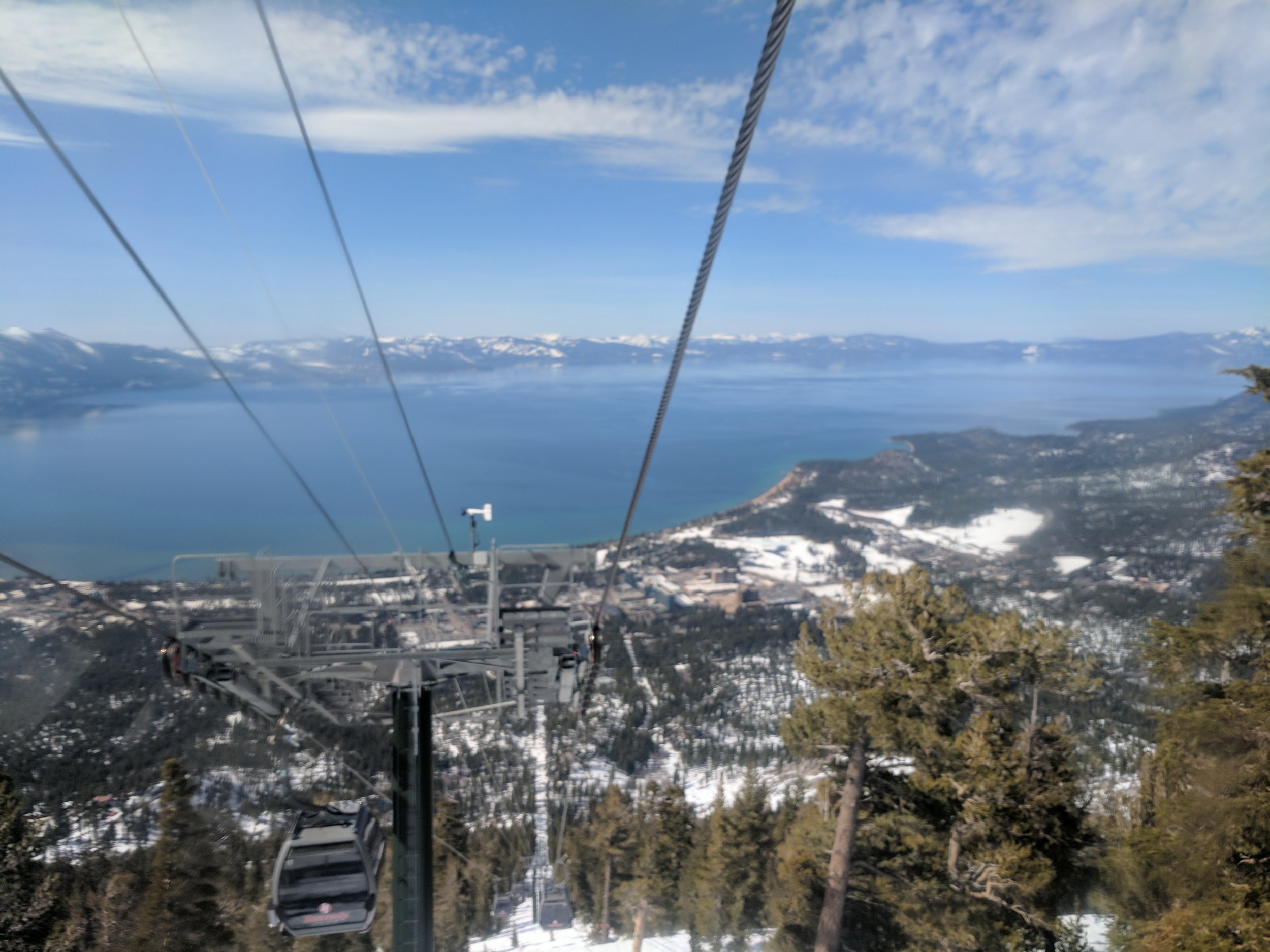 The gorgeous South Lake Tahoe