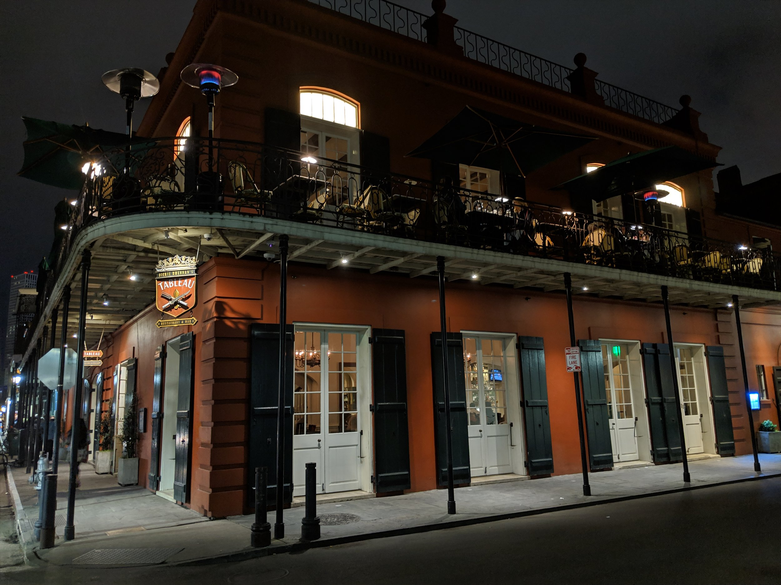 I missed dinner in order to make it to my climbing lesson at NOBL in time, but was able to trek down to Jackson Square afterwards for a meal at the wonderfully picturesque Tableau.