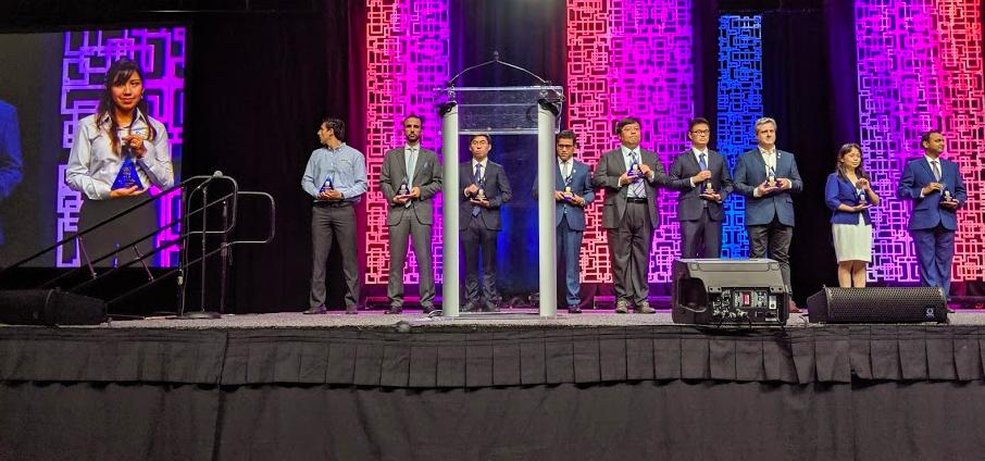 The International Team Excellence Award finalists.