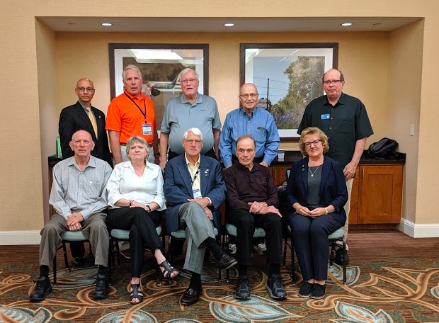 "True legacy. For a 73 year old organization like ASQ, that means there have been a lot of Past Presidents. Two more years before I become ""a true has-been"" and join the ranks of these fine folks. Back Row (L to R): Elmer Corbin (2018); Stephen Hacker (2014); Steve Bailey (1997); Jerry Mairani (2005); Pete Andres (2009); From Row (L to R): Mike Jones (1996); Liz Keim (2002); Chuck Aubrey (1992); Jack West (1993); Pat La Londe (2016)"