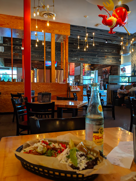 Reflecting on a long week of questions, answers, and more questions with a little help from Torchy's Tacos and a cold, cold Topo Chico.