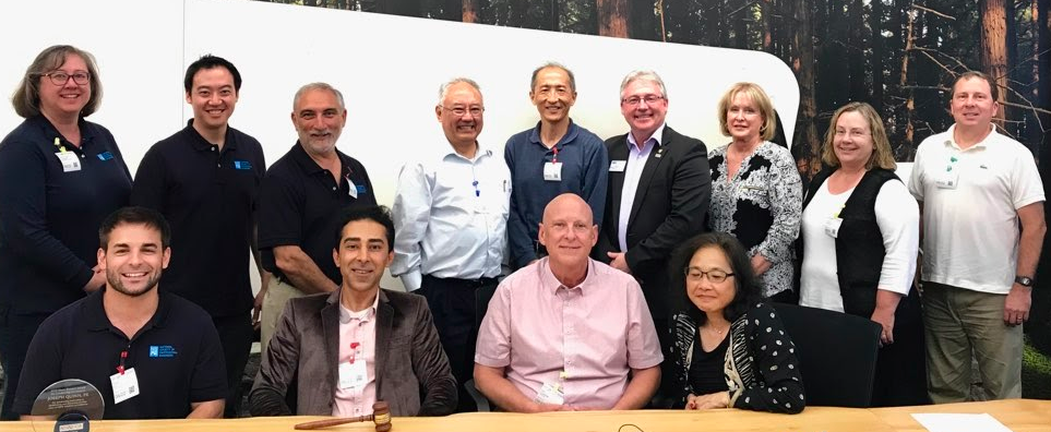 Having a joint board meeting between the boards of NSPE-California and our Education Foundation was a wonderful way to close out my two year term as California State President. Was a huge honor serving alongside these fine folks.
