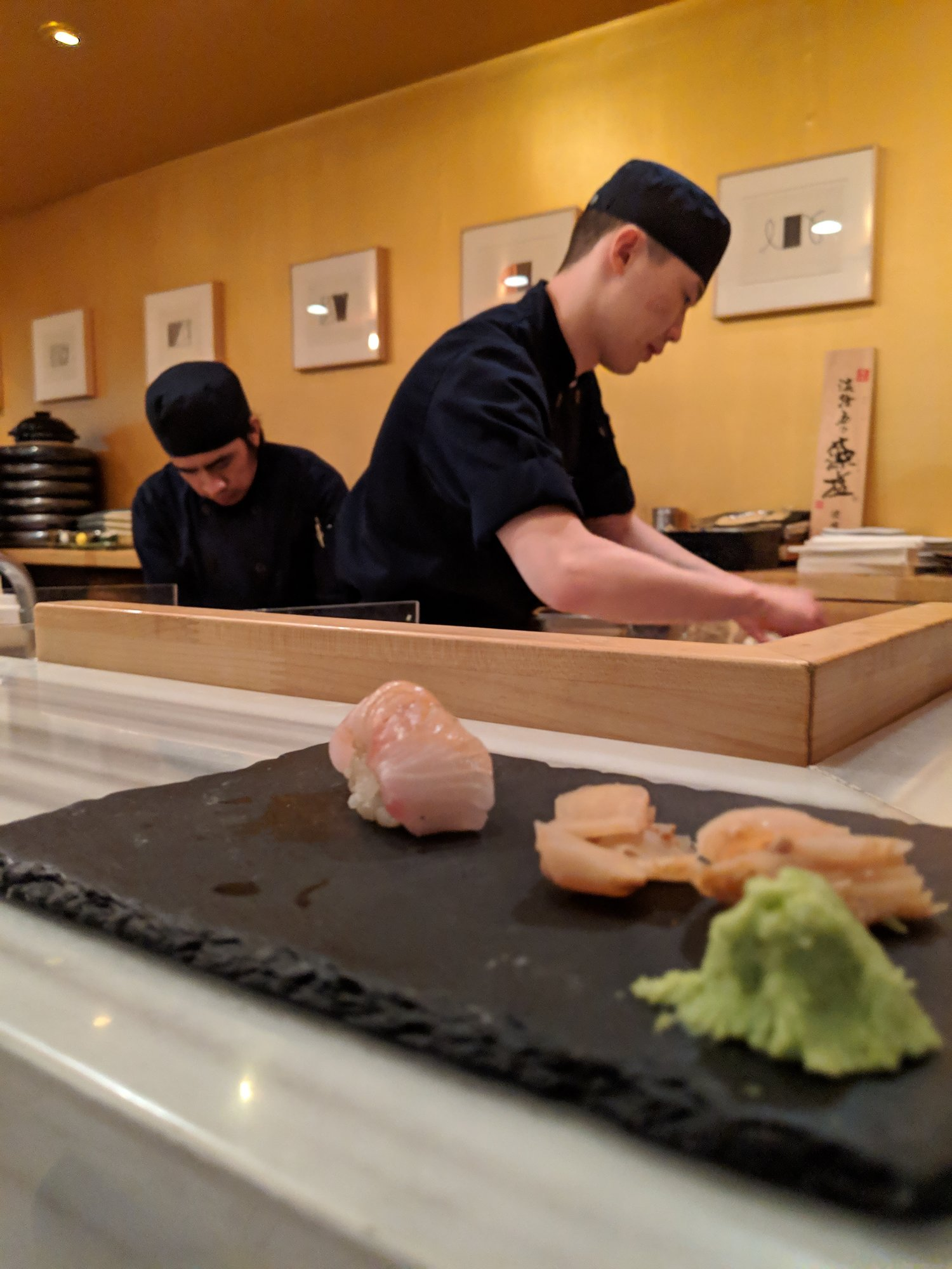 My lucky streak continued by showing up at Hamasaku on a Saturday night without a reservation and still getting slotted into the sushi bar. My sushi feast served as a celebratory reward for a long day of planning out NSPE-California's next five years alongside the Society's future leaders.