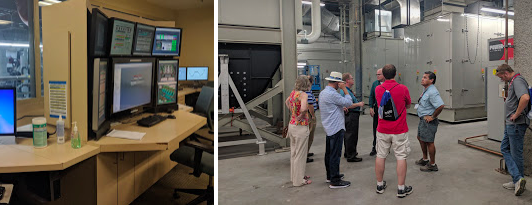 We're at an engineering conference after all, so of course we spent our time touring the power plant that provides electricity to much of Las Vegas.