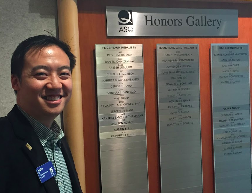 So cool to find out this Honors Gallery was here, showing the award winners and medalists from past years.