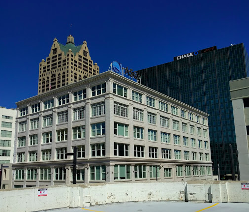 The ASQ Center in downtown Milwaukee, site of the former     Gimbels Department Store         from 1925 to 1997.