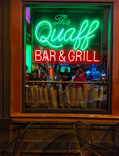 The Quaff in Kansas City's Quality Hill neighborhood where Friends go to hang out.