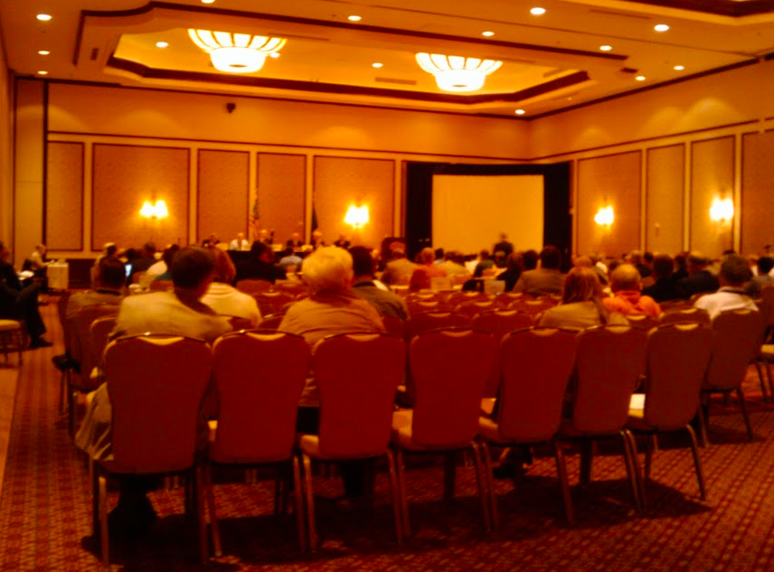 The House of Delegates meeting of NSPE, where the Board and representatives from each State's local Society join to discuss and vote on Society plans.