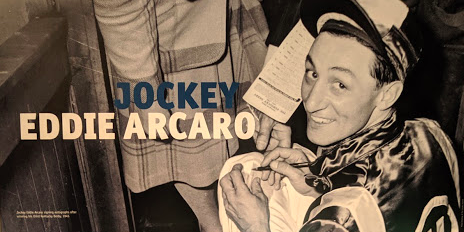 Eddie Arcaro (1916 - 1997)   : 5 time Kentucky Derby winner and the only jockey to have won the Triple Crown twice.