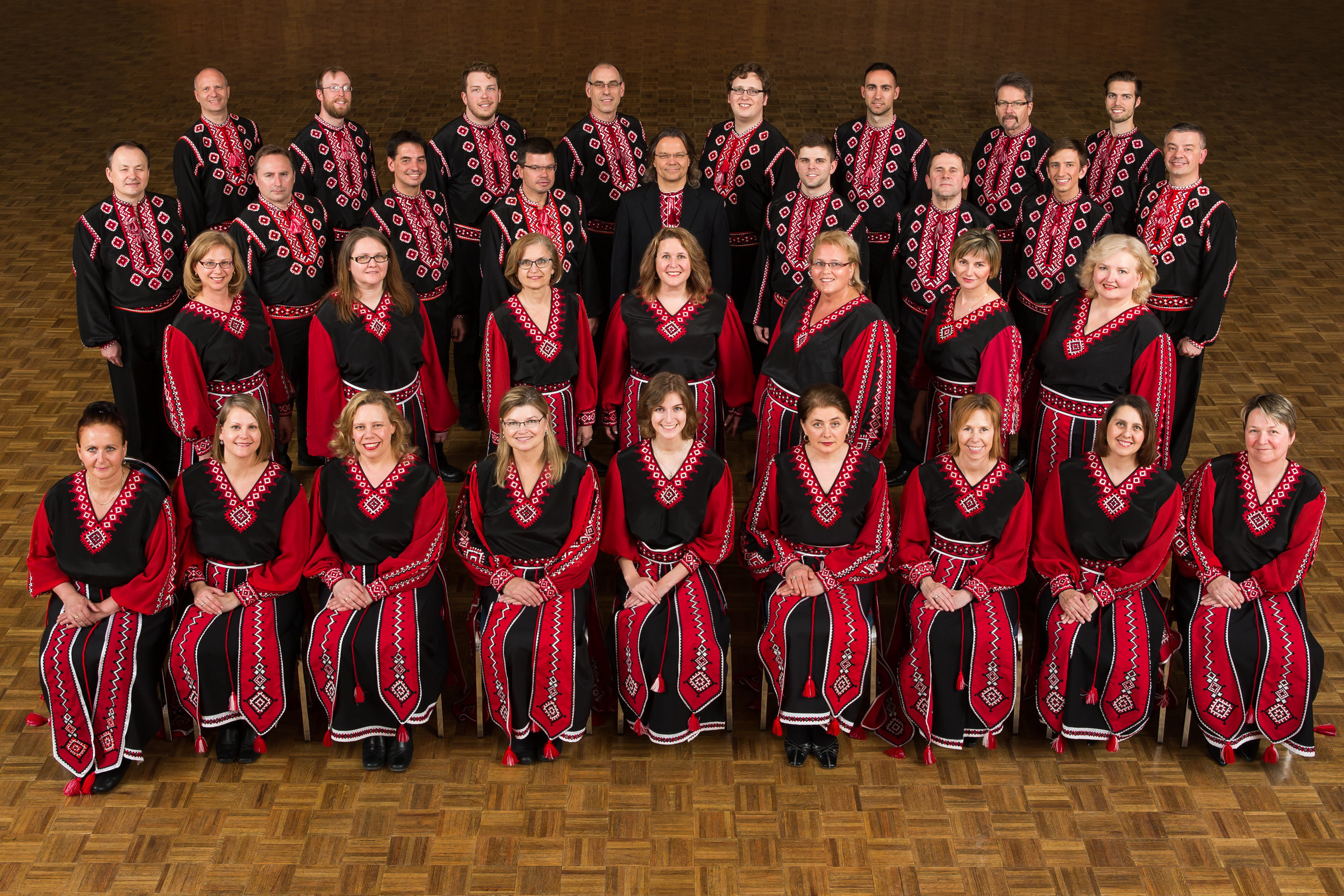 Click to view videos of the Verkhovyna Choir