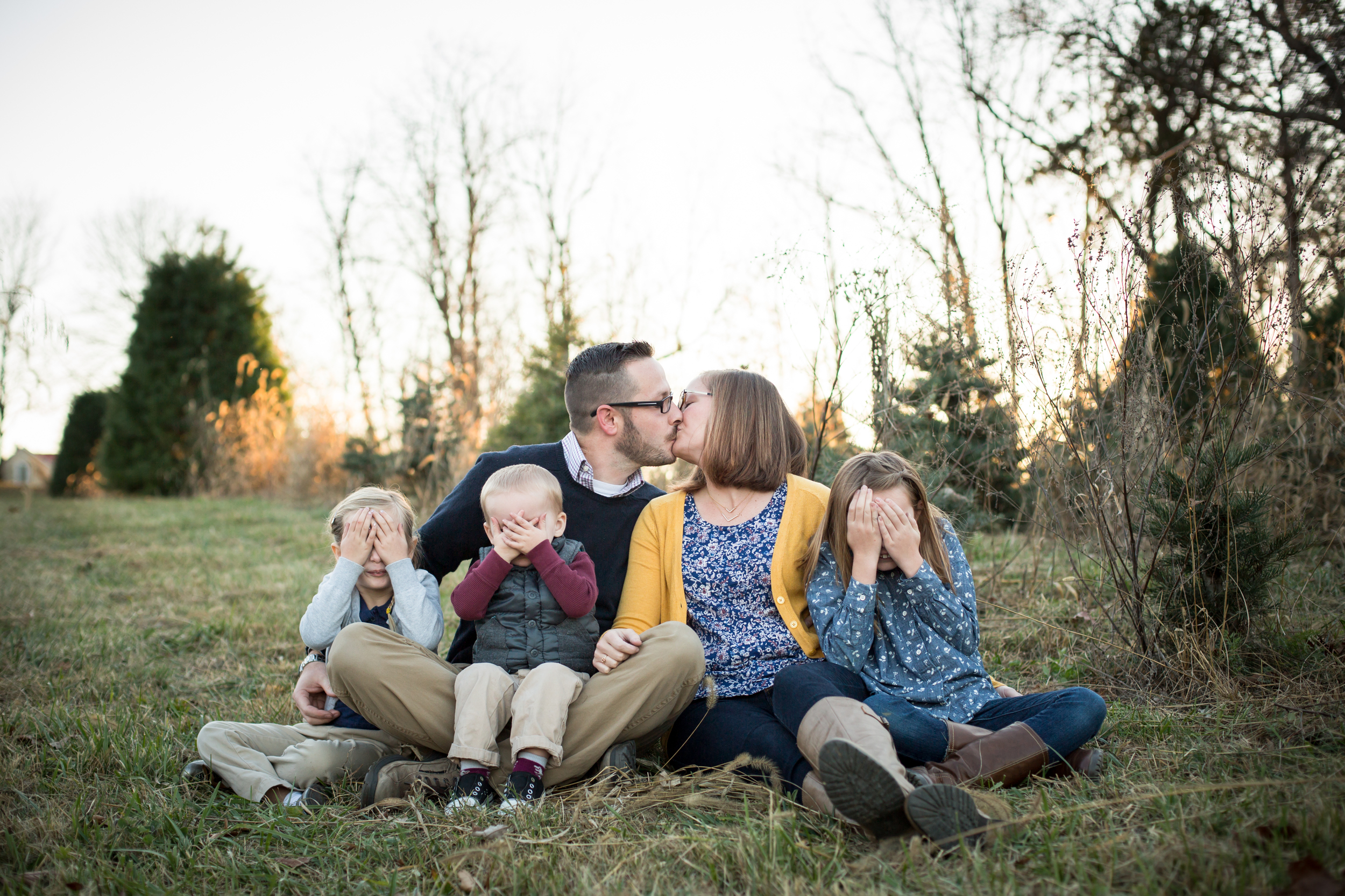 We did a mini session for Christmas card photos and these were my favorite cards ever!! Jenny is fabulous, and handled our silly family (including our two year old) like a champ.   Lisa O.