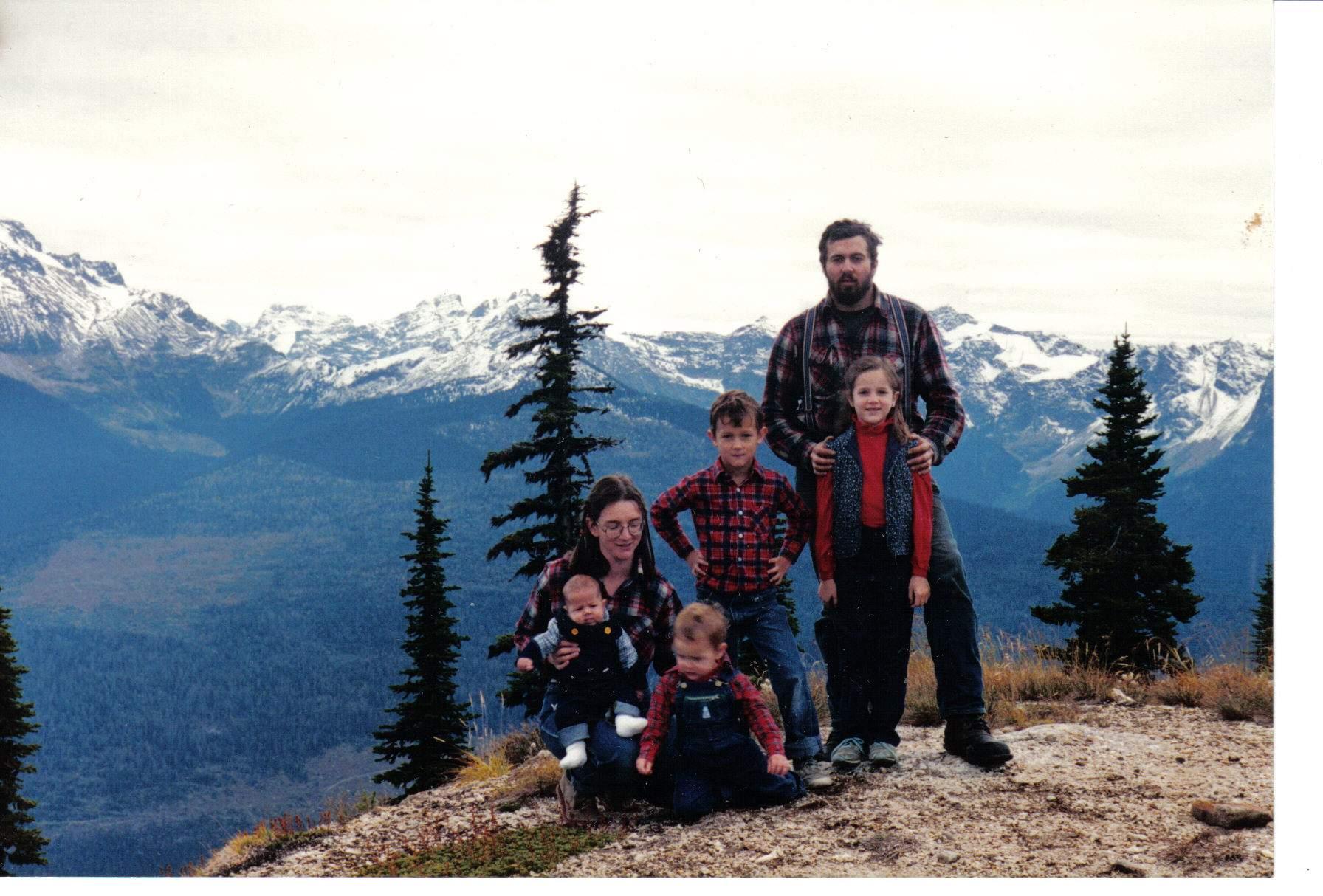 Christmas Family Portrait 1988