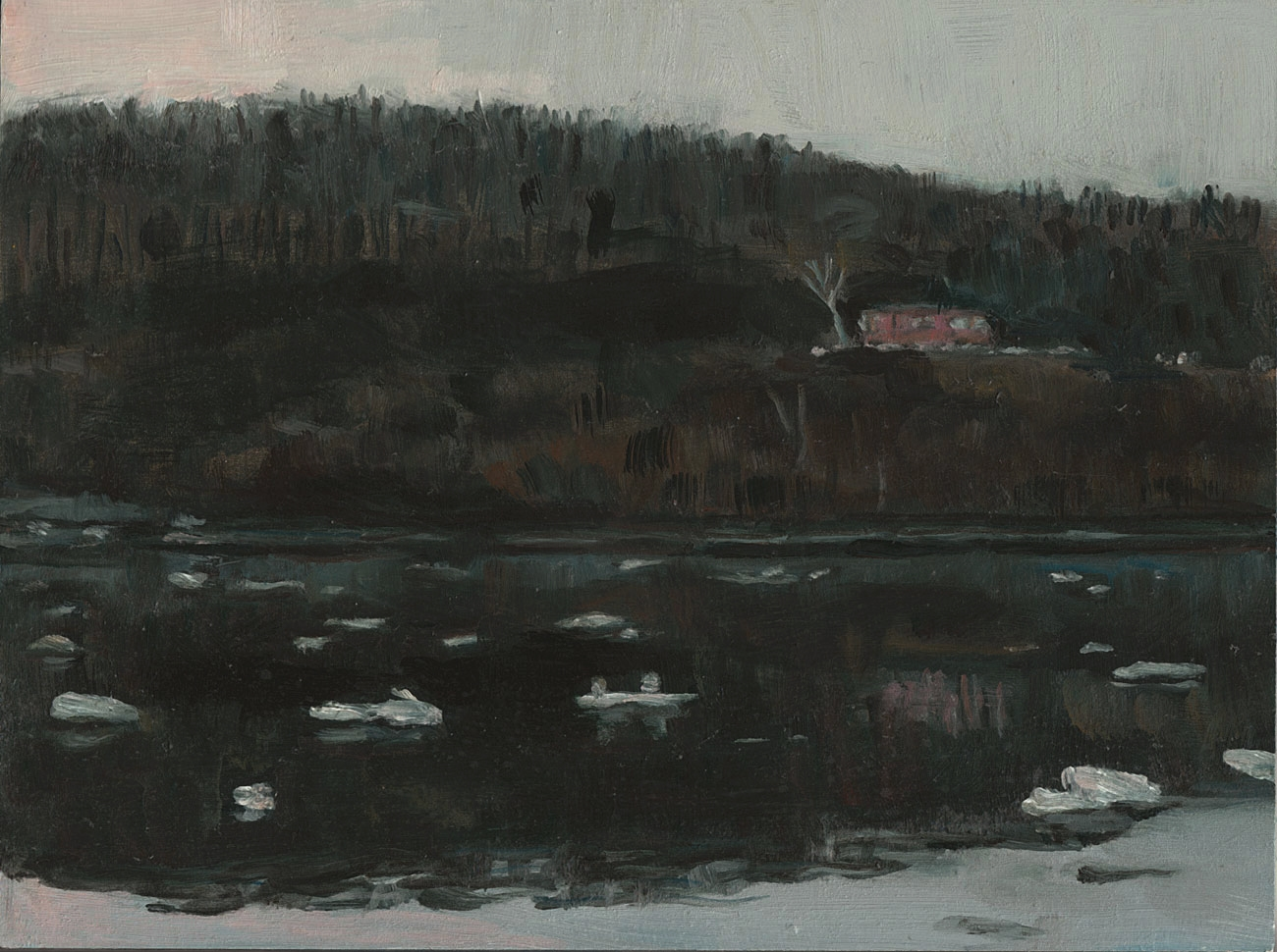 Hudson River from Poughkeepsie