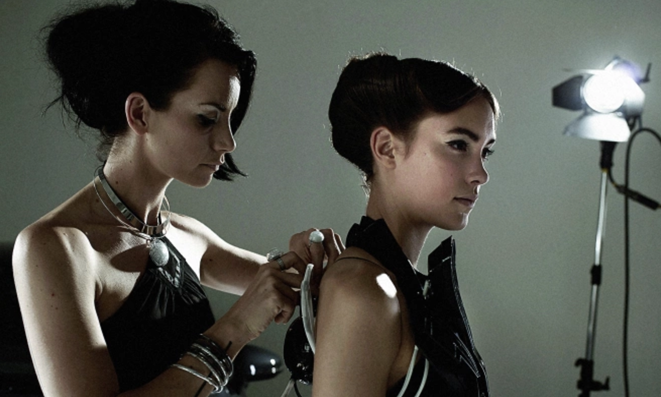 3-D Printed Dresses Supercharged With Car Parts