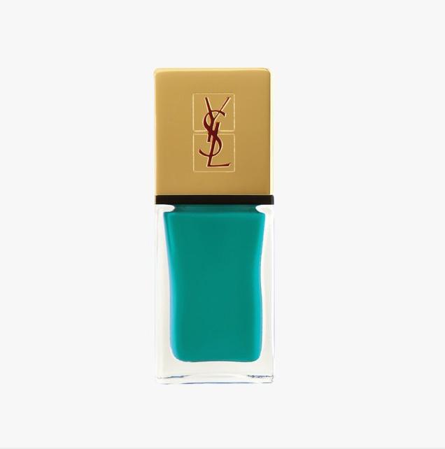 YSL La Laque Couture Nail Lacquer in Vert d'Orient, $27